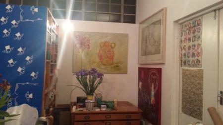 Corner of Bronwen's Studio